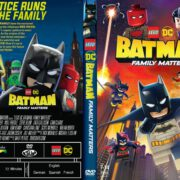 LEGO DC: Batman - Family Matters (2019) R1 Custom DVD Cover