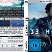 13 Hours - The Secret Soldiers of Benghazi (2016) R2 German Custom 4K UHD Covers & Labels