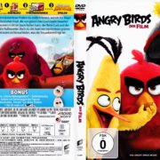 Angry Birds - Der Film (2016) R2 German DVD Cover