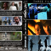 Pet Sematary Triple Feature R1 Custom Blu-Ray Cover