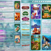 Walt Disney Adventure 8-Pack R1 Custom Blu-Ray Cover