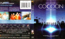 COCOON (1985) R1 BLU-RAY COVER & LABEL