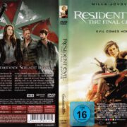 Resident Evil - The Final Chapter (2016) R2 German DVD Cover