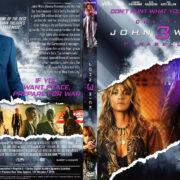 John Wick Chapter 3 (2019) R1 Custom DVD Cover