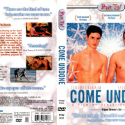 COME UNDONE (2001) R1 DVD COVER & LABEL