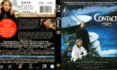 CONTACT (2009) R1 BLU-RAY COVER & LABEL