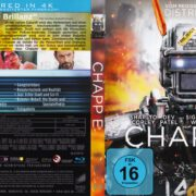 Chappie (2015) R2 German Blu-Ray Cover