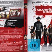 Die Glorreichen Sieben (2017) R2 German Blu-Ray Cover