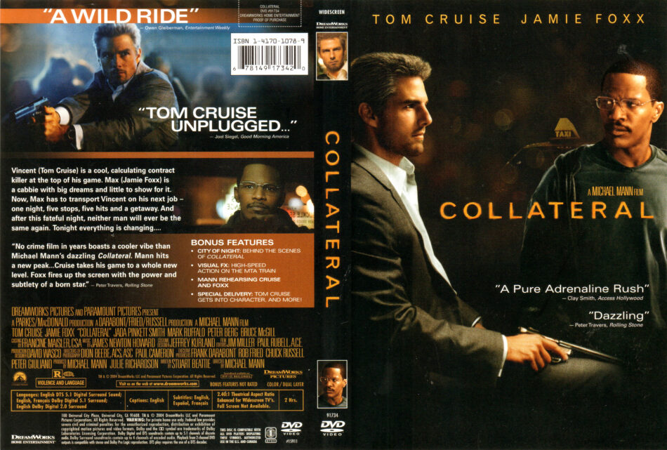 Collateral 2004 R1 Dvd Cover Labels Dvdcover Com