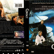 CONTACT (1997) R1 DVD COVER & LABEL