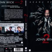 John Wick - Kapitel 2 (2017) R2 German DVD Cover