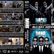 Men in Black 4-Pack R1 Custom Blu-Ray Cover