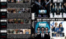 Men in Black 4-Pack R1 Custom DVD Cover