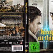 King Arthur - Legend Of The Sword (2017) R2 German DVD Cover