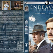 Endeavour - Season 6 (2019) R1 Custom DVD Cover & Labels