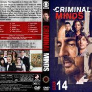 Criminal Minds - Season 14 (2019) R1 Custom DVD Cover & Labels