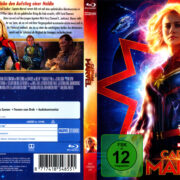 Captain Marvel (2019) R2 German Blu-Ray Cover