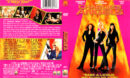 CHARLIE'S ANGELS (2000) R1 DVD COVER & LABEL