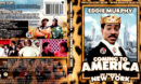 COMING TO AMERICA (1988) R1 BLU-RAY COVER & LABEL
