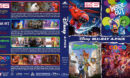 Disney 4-Pack R1 Custom Blu-Ray Cover
