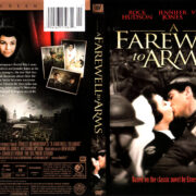 A FAREWELL TO ARMS (1957) R1 DVD COVER & LABEL