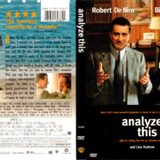 ANALYZE THIS (1999) R1 DVD COVER & LABEL