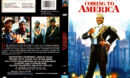 COMING TO AMERICA (1988) R1 DVD COVER & LABEL