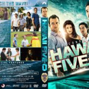Hawaii Five-O - Season 2 (2012) R1 Custom DVD Cover & Labels