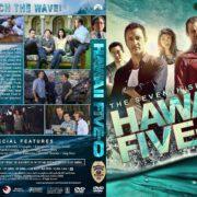 Hawaii Five-O - Season 7 (2017) R1 Custom DVD Cover & Labels