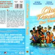 CLUB PARADISE (1986) R1 DVD COVER & LABEL