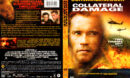 COLLATERAL DAMAGE (2001) R1 DVD COVER & LABEL