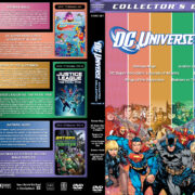 DC Universe Animated Collection - Volume 8 R1 Custom DVD Covers