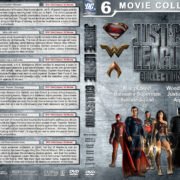 Justice League Collection R1 Custom DVD Cover