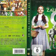 Der Zauberer von Oz (1939) R2 german DVD Cover & label