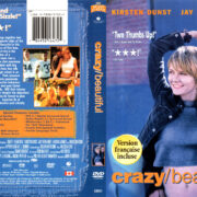 CRAZY/BEAUTIFUL (2001) R1 DVD COVER & LABEL