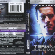 Terminator 2: Judgement Day (2017) R1 4K UHD Cover & Labels