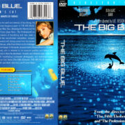 THE BIG BLUE DIRECTOR'S CUT (1988) R1 DVD COVER & LABEL