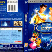 CINDERELLA SPECIAL EDITION (2005) R1 DVD COVER & LABELS