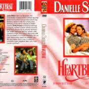 DANIELLE STEEL'S HEARTBEAT (1993) R1 DVD COVER & LABEL