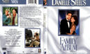 DANIELLE STEEL'S FAMILY ALBUM (1994) R1 DVD COVER & LABEL