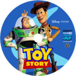 TOY STORY 3D BLU-RAY CUSTOM LABEL