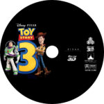TOY STORY 3 - 3D BLU-RAY CUSTOM LABEL