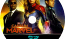 CAPTAIN MARVEL 3D BLU-RAY CUSTOM COVER