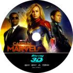 CAPTAIN MARVEL 3D BLU-RAY CUSTOM COVER