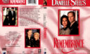 DANIELLE STEEL'S REMEMBRANCE (1996) R1 DVD COVER & LABEL