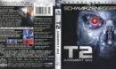 Terminator 2: Judgement Day - Skynet Edition (1991) R1 Blu-Ray Cover & Label