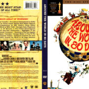 AROUND THE WORLD IN 80 DAYS (1956) R1 DVD COVER & LABELS