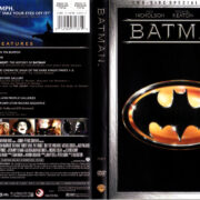 BATMAN (1989) R1 SE DVD COVER & LABELS