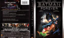 BATMAN FOREVER (1995) R1 SE DVD COVER & LABELS