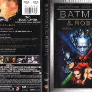 BATMAN AND ROBIN (1997) R1 SE DVD COVER & LABELS